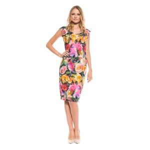 платье цветы в стиле Дольче Габбана