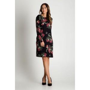 Платье Bialcon имитация вышивки и бант
